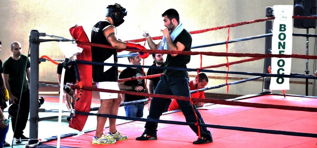 allenamenti di soft boxe