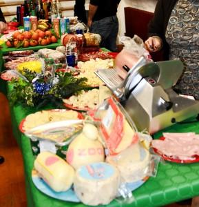 buffet festa di natale